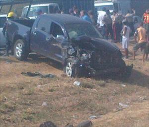 Un muerto y un herido deja accidente en la ARC (Foto)