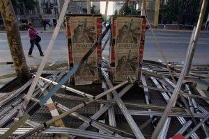 Chilenos recuerdan con protestas terremoto de 2010