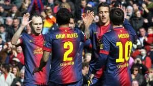 Barcelona pisoteó con goleada al Getafe