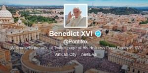 Benedicto XVI escribe un nuevo tuit tras su último acto público en el Vaticano (Video + Tuit)