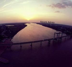 Increíbles fotos aéreas con un drone en San Fernando de Apure