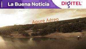Espectaculares tomas aéreas del parque nacional Cinaruco-Capanaparo en Apure