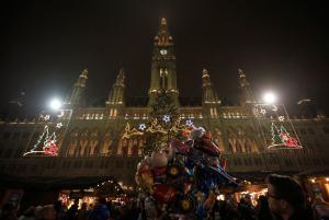La magia de Viena en Navidad (Fotos)