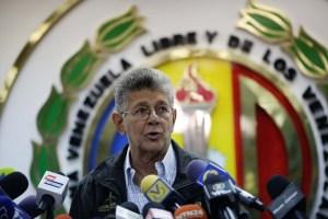 Ramos Allup le dejó un contundente recado a los montadores de ollas del régimen chavista