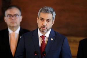 Presidente de Paraguay dio negativo a Covid-19 luego de sentirse indispuesto