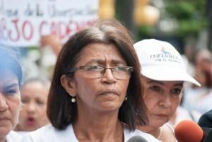 Ana Rosario Contreras exigió libertad para la enfermera Ada Macuare: Fue detenida por exigir condiciones de trabajo decentes