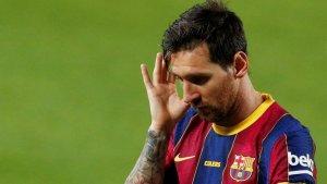 """""""No sería un drama"""", dice presidente de """"LaLiga"""" si Messi se va del Barcelona"""
