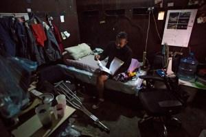 """""""Morir lentamente"""" en el sótano de un edificio público en Venezuela (Fotos)"""