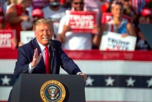 Trump alertó del riesgo para la industria petrolera si Biden gana las elecciones