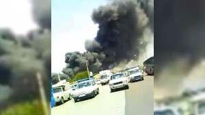 Así fue la fuerte explosión en una planta petroquímica iraní (VIDEOS)