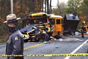 Varios niños resultaron heridos en un aparatoso accidente de tránsito en Nueva York