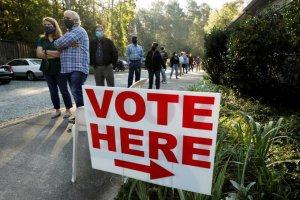 Más de 50 millones de estadounidenses han votado en las elecciones anticipadas