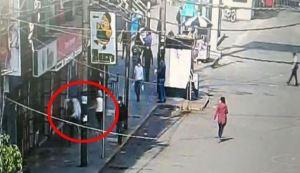 Captan el momento en el que matan a tiros a venezolana en plena calle de Perú