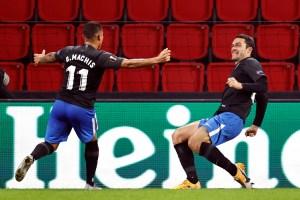 El Granada comenzó con buen pie en la Europa League con una JOYA del criollo Darwin Machís (Video)