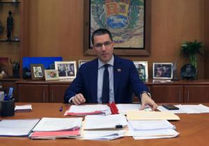 Jorge Arreaza reveló supuestos detalles sobre el show electoral