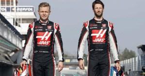Kevin Magnussen y Romain Grosjean se separarán del Haas F1 Team al concluir la temporada
