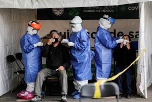 México superó el millón de contagios por coronavirus