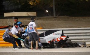 Accidente de Romain Grosjean en el GP de Baréin (Fotos y Video)