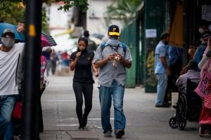 Venezuela alcanza los 124 mil contagios por coronavirus
