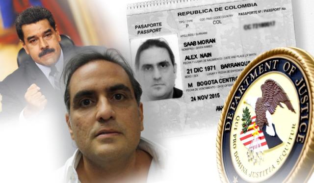 En VIDEO: Primeras imágenes de Alex Saab, escoltado por el FBI en Miami