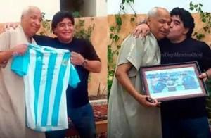 """El árbitro de la """"mano de Dios"""" vuelve a pitar para homenajear a Maradona"""