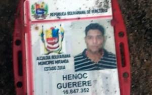 Asesinan a hijo de exalcalde Henoc Guerere en el municipio Miranda, en Zulia