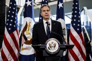 Antony Blinken asumió el cargo de Secretario de Estado de los Estados Unidos