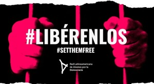 Jóvenes venezolanos promueven liberación de presos políticos en Latinoamérica
