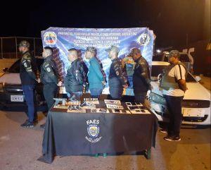 Capturados 7 sujetos que se hacían pasar por policías del Faes en Lara (FOTOS)