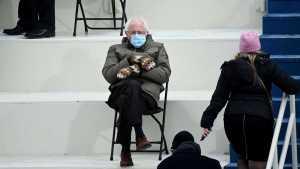 Un muñeco inspirado en Bernie Sanders recauda más de 40 mil dólares para una ONG