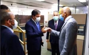"""Las primeras IMÁGENES de la reunión entre Jorge Rodríguez y su """"comisión"""" con Fedecámaras"""