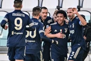 Juventus gana a Bolonia y se acerca a Milan e Inter
