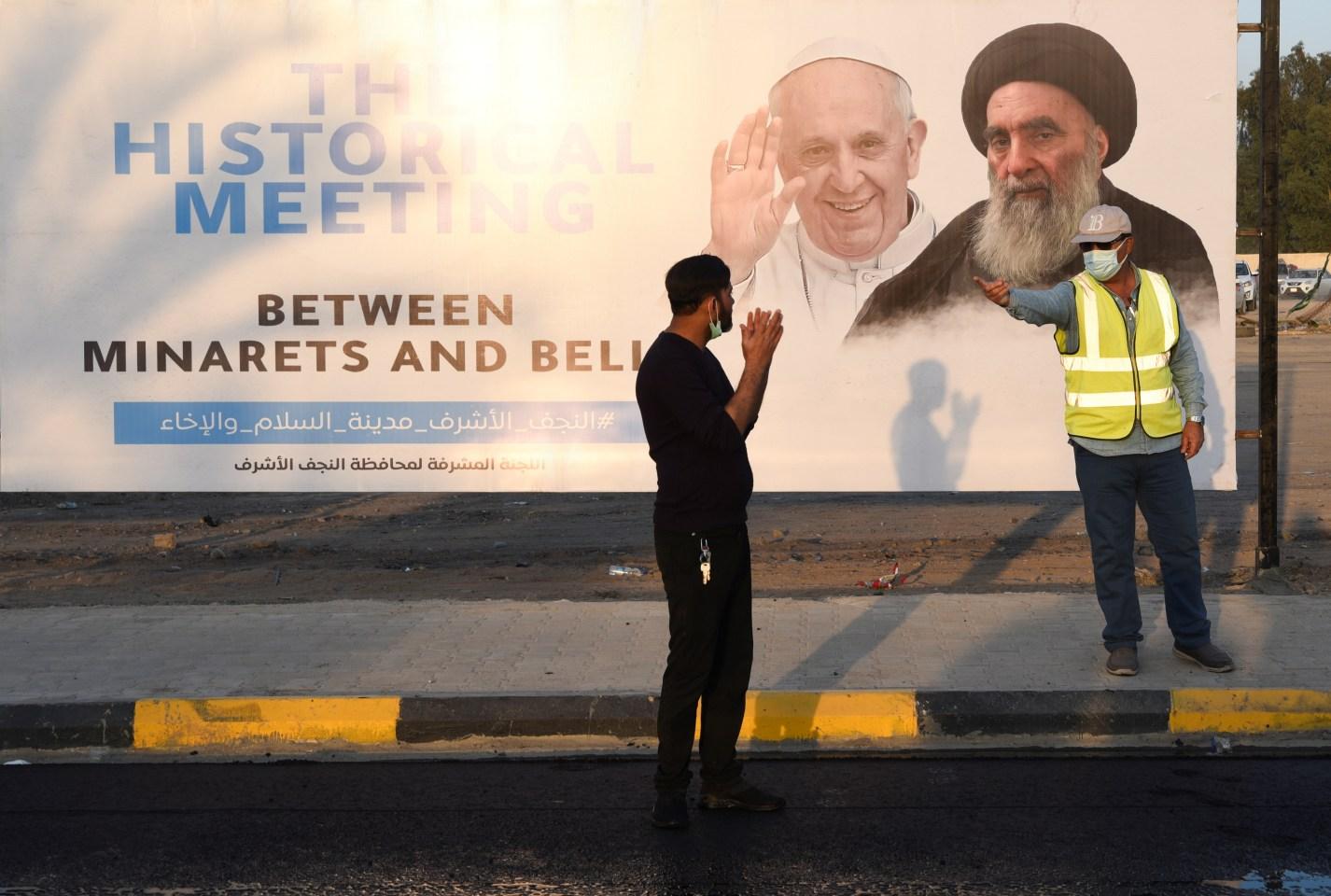 """""""Voy como un peregrino de la paz tras años de guerra y terrorismo"""", dice el Papa a iraquíes"""