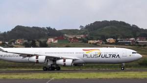 """Plus Ultra le respondió al Inac y aseguró que sus vuelos """"cumplen las normativas"""""""