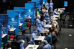 Coronavirus en Colombia: Reportan 24.376 nuevos casos y 588 muertes más