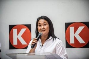 Keiko Fujimori pide a presidentes de izquierda no meterse en las elecciones de Perú