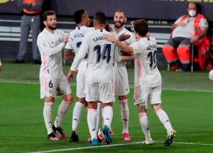 Real Madrid se colocó como líder provisionar tras vencer al Cádiz