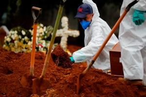 Brasil registró el menor promedio diario de muertes por Covid-19 en casi dos meses