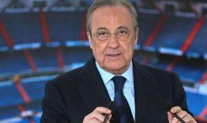 """Florentino Pérez admitió que proyecto de la Superliga está """"en stand-by"""""""