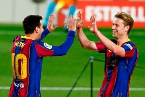 Messi lideró goleada del Barcelona sobre Getafe