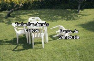 Los MEMES no perdonaron al Banco de Venezuela tras su caída a nivel nacional este #19Abr