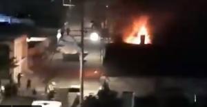 VIDEO: Sinagoga de Israel en llamas en medio de disturbios