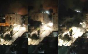 Imágenes sensibles: Bombardeo acabó con la torre Al-Jawhara en Palestina