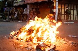 Declaran estado de emergencia en urbe árabe-israelí por protestas palestinas