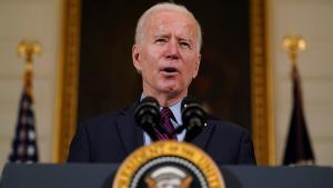 Biden respaldó el derecho legítimo de Israel a defenderse