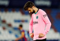 El Barcelona a punto de despedirse de LaLiga tras empatar con Levante