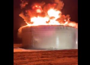 En VIDEO: Instalación de oleoducto israelí fue impactada por un cohete de Hamas