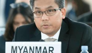 Embajador de Birmania en la ONU pide acciones contra la junta militar
