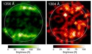 Telescopio Hubble halló evidencia de vapor de agua en la luna Ganímedes de Júpiter
