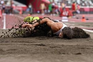 El segundo golpe del atleta belga en Tokio 2020: Una dura caída lo obligó a retirarse (FOTOS)